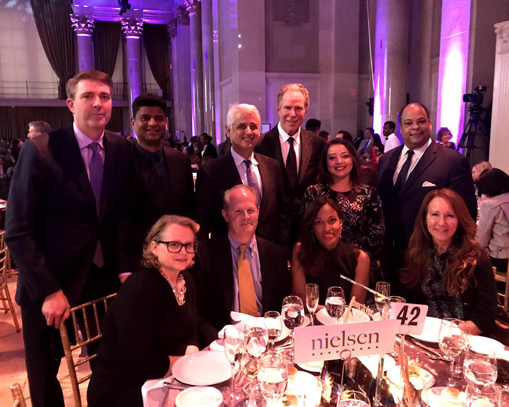 Nielsen leaders attend DiversityInc award ceremony